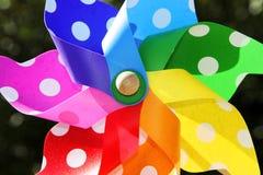 De kleuren van de windmolen Stock Fotografie