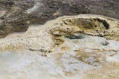 De Kleuren van de Yellowstonegeiser Royalty-vrije Stock Foto