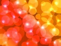 De kleuren van de zomer voor de mooie achtergrond van de lensgloed. Stock Foto