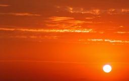 De Kleuren van de zonsopgang Stock Foto's