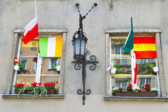 De kleuren van Euro 2012. Stock Foto's