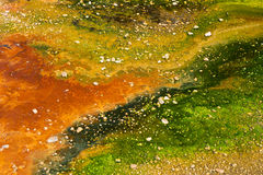 De Kleuren van Geotermal royalty-vrije stock foto's