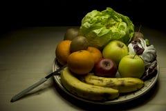 De kleuren van gezondheid Stock Afbeeldingen