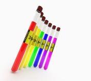 De kleuren van het buizenstelsel Royalty-vrije Stock Foto