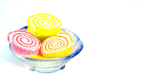De kleuren van het geleisuikergoed Stock Fotografie