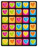 De kleuren van het hart vector illustratie