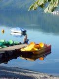 De Kleuren van het meer stock afbeeldingen