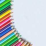 De kleuren van het potlood Royalty-vrije Stock Foto