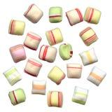 De kleuren van het suikergoed Stock Fotografie