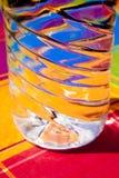 De kleuren van het water Stock Foto