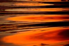 De Kleuren van het water Stock Afbeelding