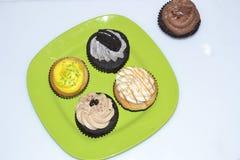 De kleuren van voedsel stock foto's