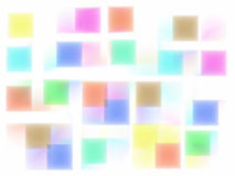 De kleurenachtergrond van het onduidelijke beeld Stock Foto's