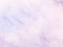 De kleurenachtergrond van het pastelkleurwater Stock Afbeelding