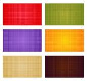De kleurenachtergronden van de herfst Stock Foto's