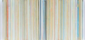 De kleurendocument van de Horisontalstapel royalty-vrije stock afbeeldingen