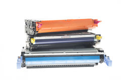De kleurendruktoners van CMY Royalty-vrije Stock Fotografie