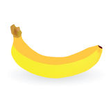 De kleurenillustratie van de banaan vectorkunst Royalty-vrije Stock Foto's