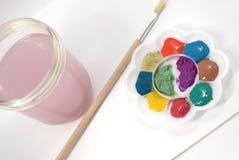De kleurenpalet van de regenboog. Royalty-vrije Stock Foto's