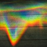 De kleurenprisma van de regenboog Royalty-vrije Stock Foto