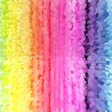 De kleurensamenvatting van de regenboog Stock Fotografie