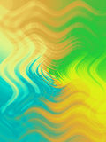 De kleurensamenvatting van de waterplant vector illustratie