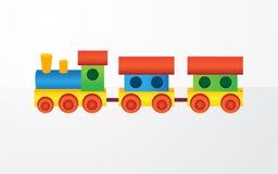 De kleurenstuk speelgoed van kinderen Stock Afbeelding