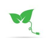 De kleurenvector van de blad groene kunst Stock Afbeeldingen