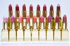 De kleurenvertoning van de lippenstift royalty-vrije stock fotografie