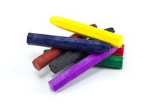 De Kleurpotloden van de Pastelkleur van de olie Royalty-vrije Stock Fotografie