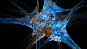 De kleurrijke abstracte achtergrond van de waterverfexplosie Royalty-vrije Stock Afbeelding