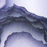De kleurrijke abstracte samenstelling met omfloerst Royalty-vrije Stock Afbeeldingen