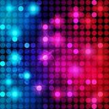 De kleurrijke Abstracte VectorAchtergrond van Punten Royalty-vrije Stock Afbeeldingen