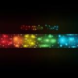 De kleurrijke Abstracte VectorAchtergrond van Punten Royalty-vrije Stock Afbeelding