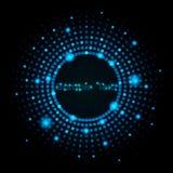 De kleurrijke Abstracte VectorAchtergrond van Punten Stock Afbeelding