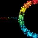 De kleurrijke Abstracte VectorAchtergrond van Punten Royalty-vrije Stock Foto