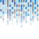 De kleurrijke abstracte vierkante achtergrond van het pixelmozaïek Royalty-vrije Stock Fotografie