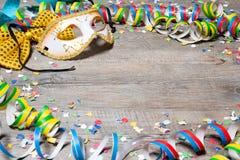 De kleurrijke achtergrond van Carnaval Stock Afbeelding