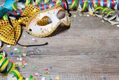 De kleurrijke achtergrond van Carnaval Stock Fotografie