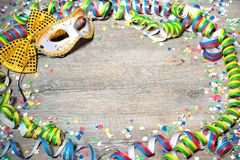 De kleurrijke achtergrond van Carnaval Royalty-vrije Stock Foto's