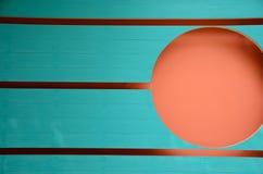 De kleurrijke achtergrond van de lijn en van de cirkel Royalty-vrije Stock Foto's