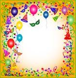 De kleurrijke achtergrond van de Partij Royalty-vrije Stock Afbeeldingen
