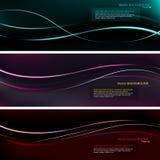 De kleurrijke achtergrond van de Presentatie Stock Foto