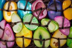 De kleurrijke Achtergrond van de Steen Royalty-vrije Stock Foto's