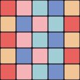 De kleurrijke Achtergrond van de Tegel Stock Foto's