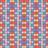 De kleurrijke Achtergrond van de Tegel Royalty-vrije Stock Afbeeldingen
