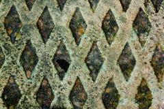 De kleurrijke Achtergrond van Diamond Shape Grungy Patterns en van de Textuur Stock Afbeeldingen