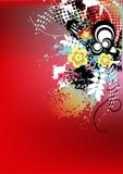 De kleurrijke achtergrond van Grunge royalty-vrije illustratie