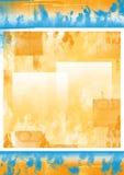 De kleurrijke achtergrond van Grunge, Stock Foto's