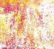 De kleurrijke achtergrond van de grungemuur Royalty-vrije Stock Foto